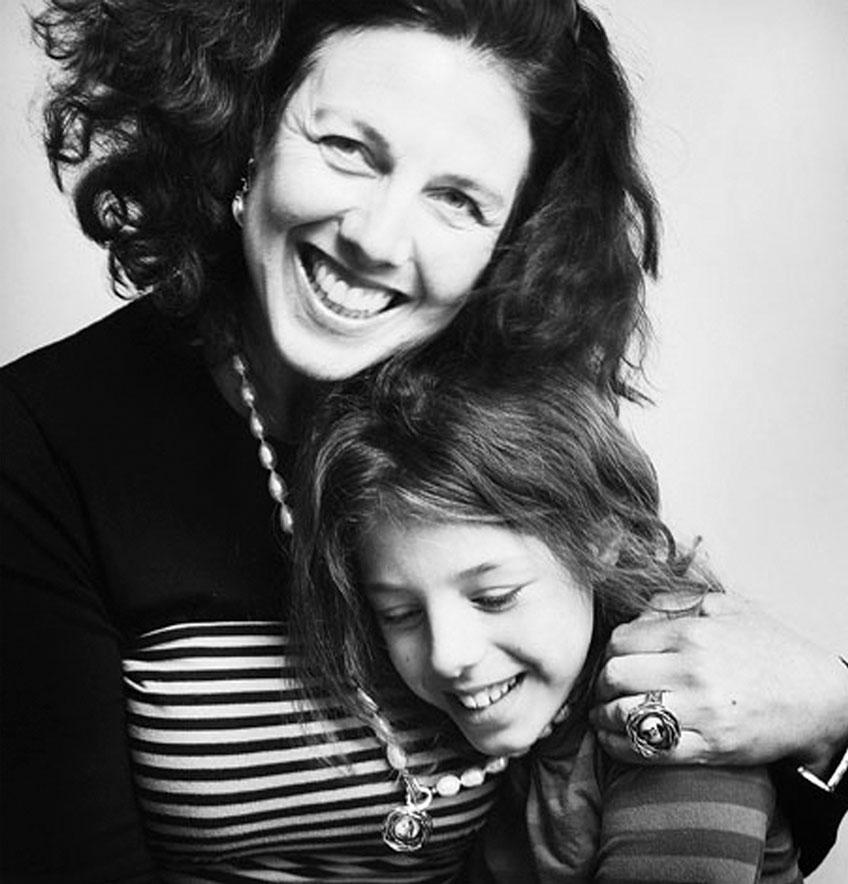 Ingeborg Vink met haar dochter Sarah